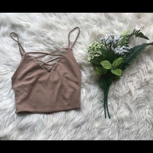 FOREVER21 crop tank top!